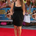 lucy pinder Height and Weight 2013