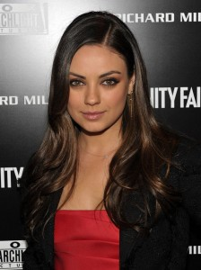 Mila Kunis height and weight 2014