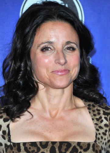 Julia Louis-Dreyfus height and weight 2014
