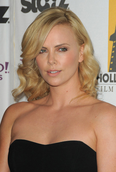 Charlize Theron Boob