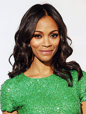 Zoe Saldana height and weight 2014