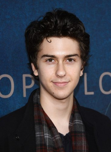 Nat Wolff Chest Biceps size