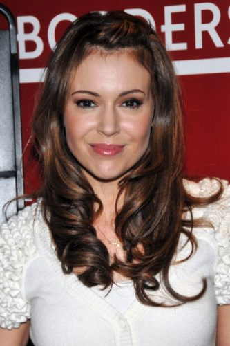 Alyssa Milano height and weight 2016