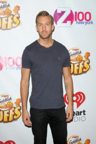 Calvin Harris Chest Biceps size