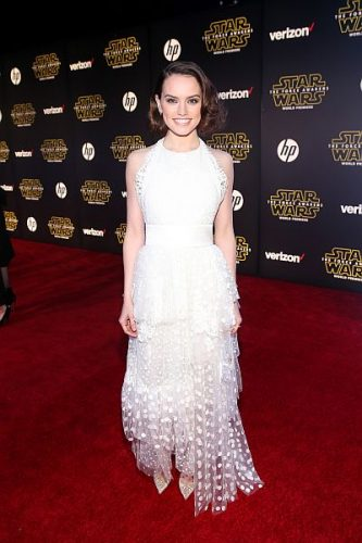 Daisy Ridley height and weight 2016