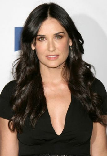 Demi Moore height and weight 2016