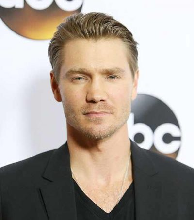 Chad Michael Murray Chest Biceps size