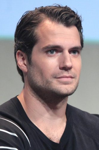Henry Cavill Chest Biceps size