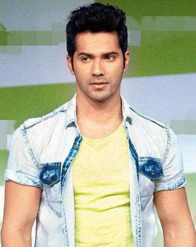 Varun Dhawan height and weight 2016