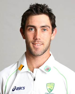 Glenn Maxwell Chest Biceps size