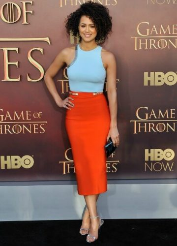 Nathalie Emmanuel (Missandei) height and weight 2016