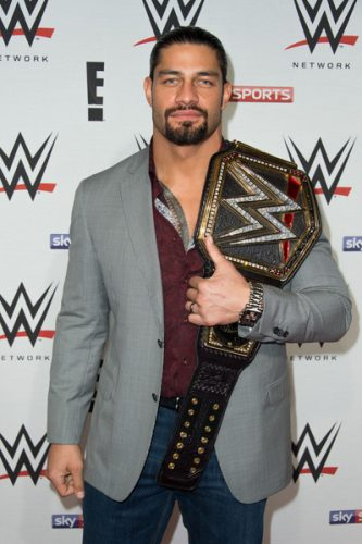 Roman Reigns height and weight 2016