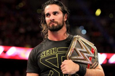 Seth Rollins Chest Biceps size