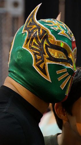 Sin Cara Chest Biceps size