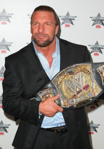 Triple H Chest Biceps size