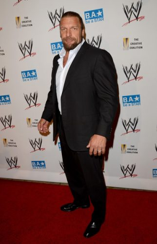 Triple H height and weight 2016