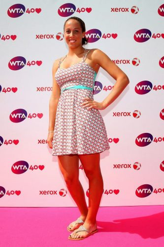 Madison Keys height and weight 2016
