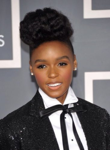 Janelle Monae height and weight 2016
