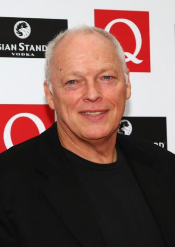 David Gilmour Chest Biceps size