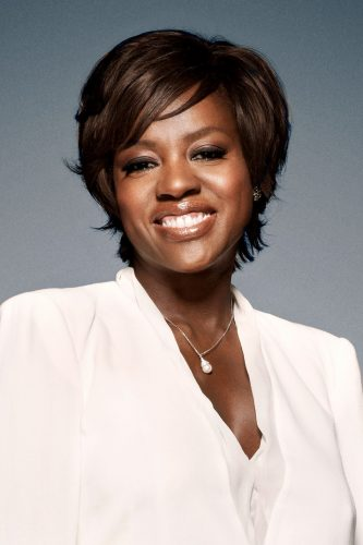 Viola Davis height and weight 2017