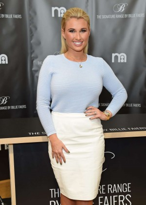Billie Faiers height and weight 2017