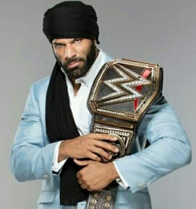 Jinder Mahal Height, Weight, Age, Biceps Size, Body Stats