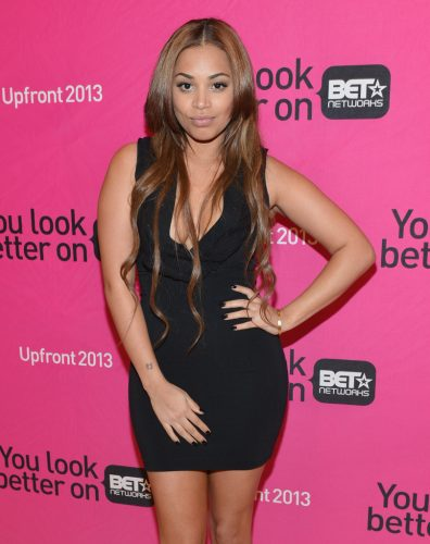 Lauren London height and weight 2017