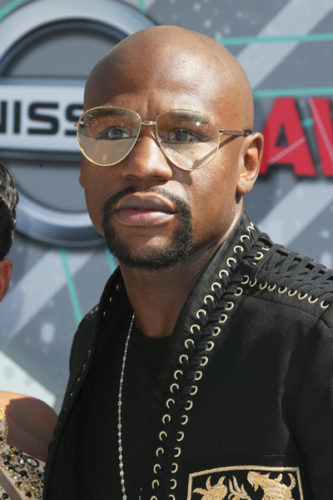 Floyd Mayweather Chest Biceps size