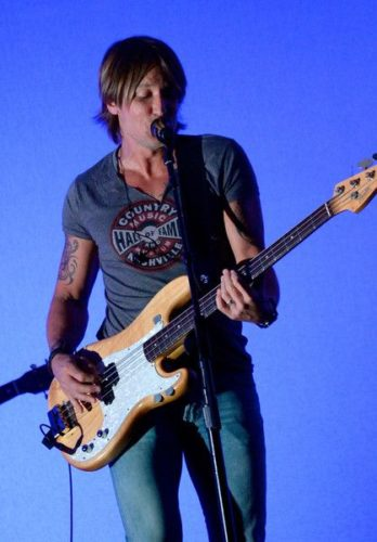 Keith Urban Chest Biceps size