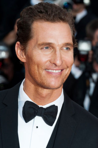 Matthew McConaughey height and weight 2017
