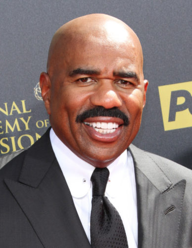 Steve Harvey Chest Biceps size