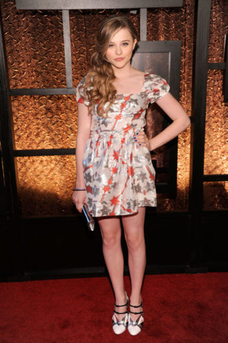 Chloe Grace Moretz height and weight
