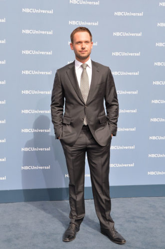 Patrick J. Adams Height Weight Age Biceps Size Body Stats
