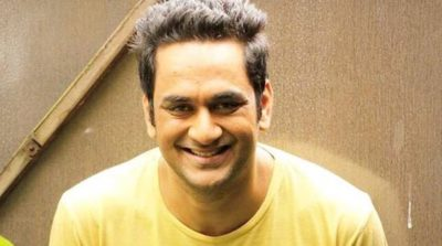 Vikas Gupta Chest Biceps size