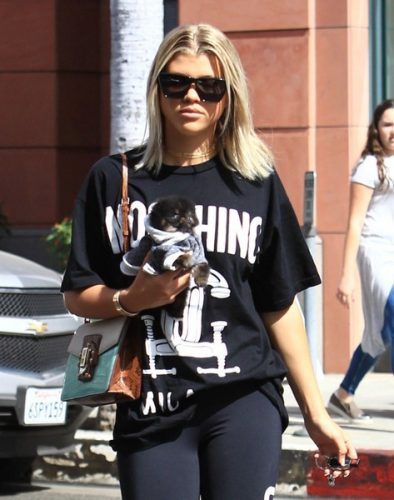 Sofia Richie height and weight
