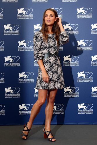 Alicia Vikander height and weight