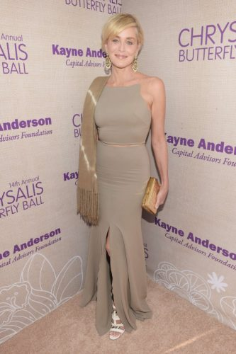 Sharon Stone height and weight