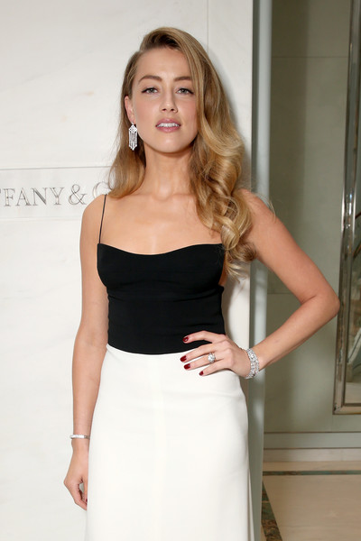 Amber Heard height and weight