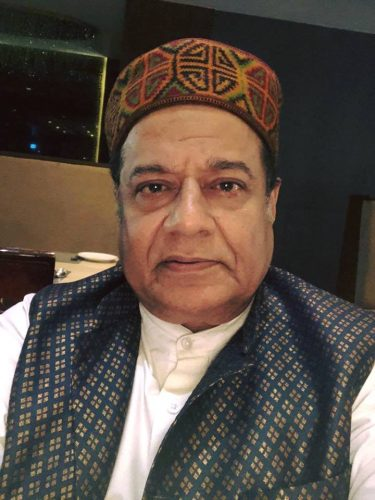 Anup Jalota Chest Biceps size
