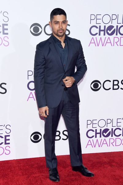 Wilmer Valderrama Chest Biceps size